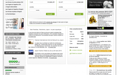 Changer des euros en yen la poste cdt comptoir des tuileries - Le comptoir des tuileries ...