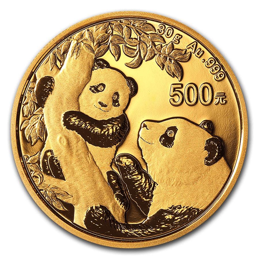 Cours Panda Chine Piece 30 Grammes Or Prix Achat Et Vente