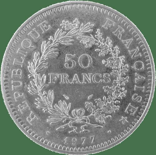 Cours 50 Francs Hercule (1974-1980), prix achat et vente 435f43075095