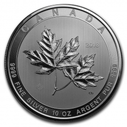 Prix Maple Leaf (Canada) 10 once argent (10oz) avers