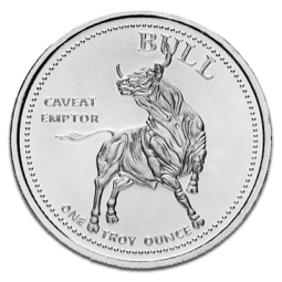 Prix Bull and Bear (Etats Unis) 1 once argent (1oz) avers