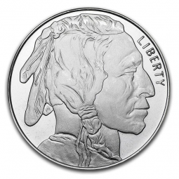 Prix Buffalo (USA) 1 once argent (1oz) avers