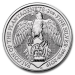 Queen s beasts Faucon (Grande Bretagne) 2 onces (2oz) argent avers