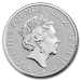 Queen s beasts Faucon (Grande Bretagne) 2 onces (2oz) argent revers