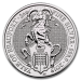 Queen s beasts Yale (Grande Bretagne) 2 onces (2oz) argent avers