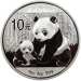 Panda (Chine) 1 once argent (1oz)
